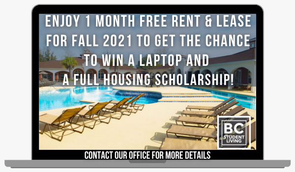 Blanton Common Special! Free Laptops, FULL Housing Scholarships and 1 Month Free Rent!