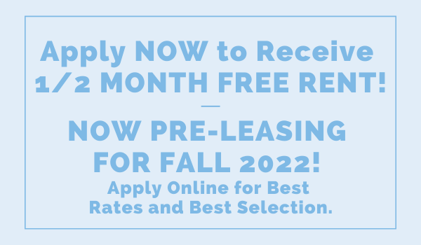 Blanton Common Special + Pre-leasing for 2022!